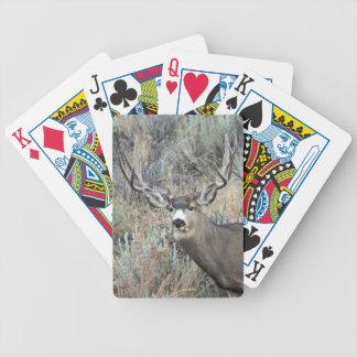 Baralho Para Poker Fanfarrão dos cervos de mula de Utá