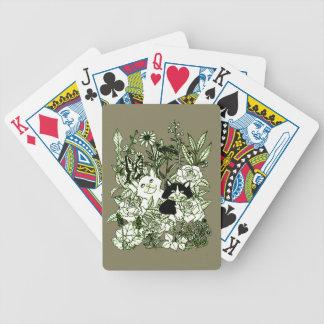 Baralho Para Poker Gatinhos nos Wildflowers