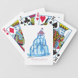 Baralho Para Poker gato do jello do mirtilo dos fernandes tony