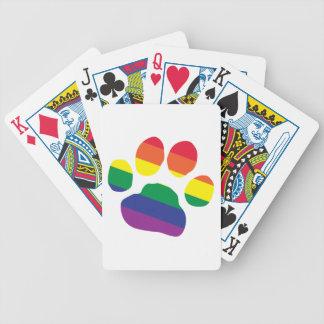 Baralho Para Poker Gay-Orgulho-Pata-Impressão