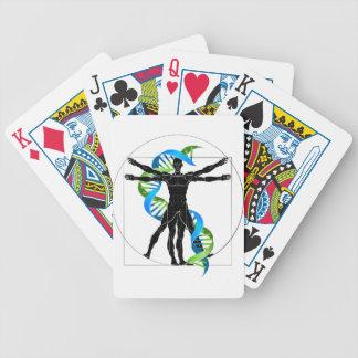 Baralho Para Poker Homem do ADN Vitruvian