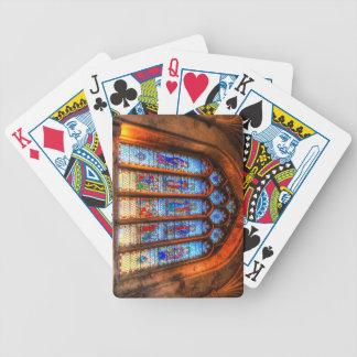 Baralho Para Poker Janela da abadia do vitral