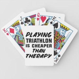 Baralho Para Poker Jogar o Triathlon é mais barato do que a terapia