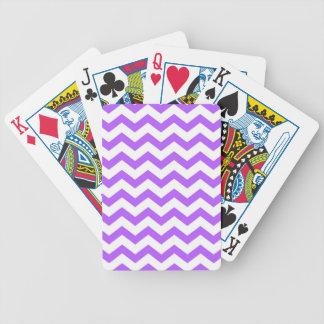 Baralho Para Poker listras roxas da viga