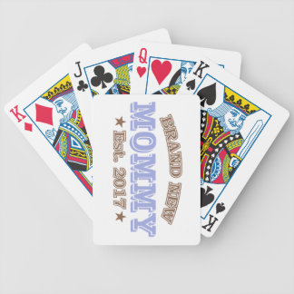 Baralho Para Poker Mamães brandnew Est. 2017 (roxo)