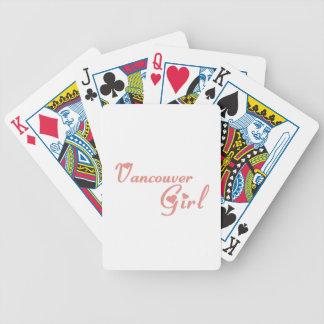 Baralho Para Poker Menina de Vancôver