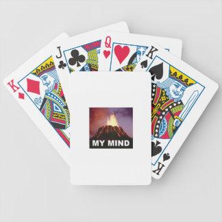Baralho Para Poker minha mente do vulcão