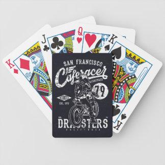 Baralho Para Poker Motor Califórnia do piloto do café de San