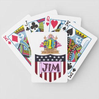 Baralho Para Poker Número um Jim