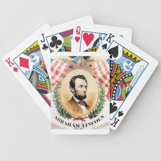 Baralho Para Poker Oval de Abe