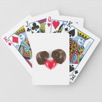 Baralho Para Poker Ovo e coração de chocolate