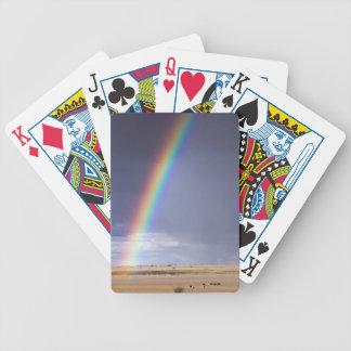 Baralho Para Poker Paisagem do arco-íris