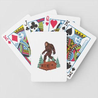 Baralho Para Poker Paraíso de Bigfoot
