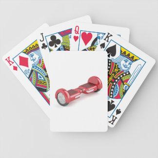 Baralho Para Poker Patinete deequilíbrio vermelho