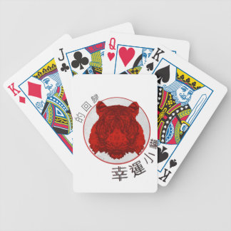 Baralho Para Poker Retorno do tigre afortunado