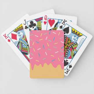 Baralho Para Poker Rosquinha cor-de-rosa