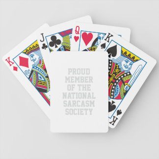 Baralho Para Poker Sociedade nacional do sarcasmo