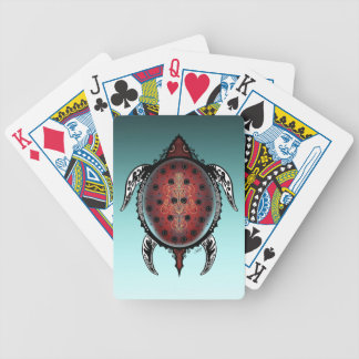 Baralho Para Poker Tatuagem da tartaruga da fantasia