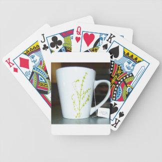 Baralho Para Poker Tenha um chá de O do copo!