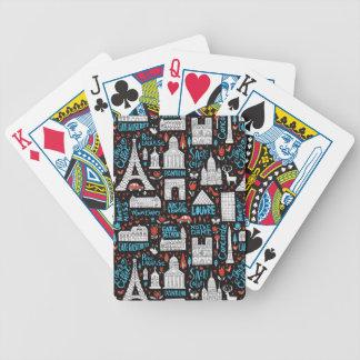Baralho Para Poker Teste padrão dos símbolos de France  