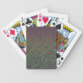 Baralho Para Poker Tintura escura do laço