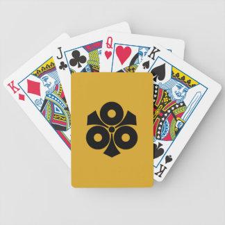 Baralho Para Poker Três olhos de cobra com espadas
