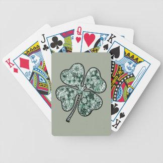 Baralho Para Poker Trevo 2 da licença quatro