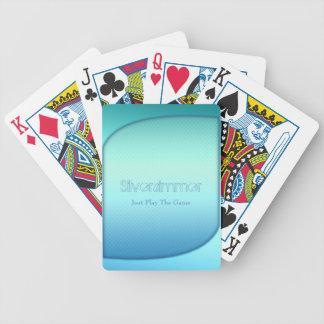 Baralho Para Poker turquesa