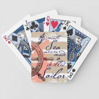 Baralho Para Poker Um mar liso nunca fez um marinheiro especializado