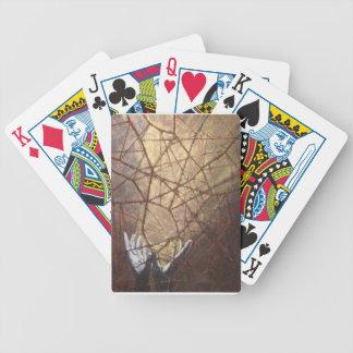 Baralho Para Poker Vidro quebrado e luz solar