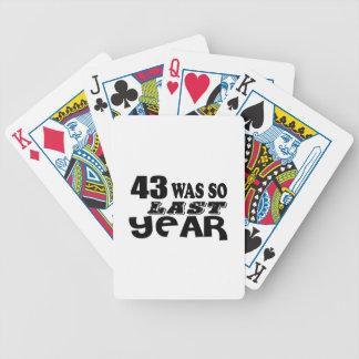Baralho Para Pôquer 43 era assim tão no ano passado o design do