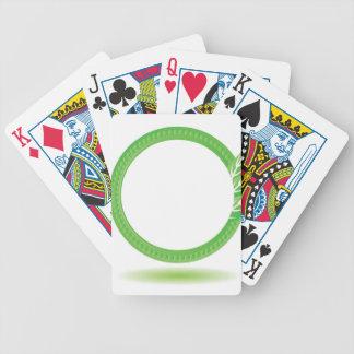 Baralho Para Pôquer 87Greewn Label_rasterized