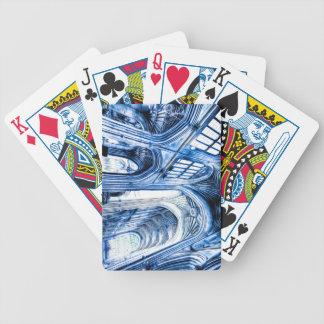 Baralho Para Pôquer A abadia azul