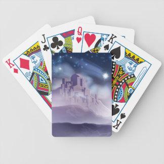 Baralho Para Pôquer A estrela do Natal da ilustração de Bethlehem