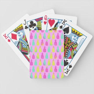 Baralho Para Pôquer Abacaxis Pastel