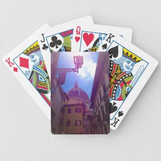 Baralho Para Pôquer Abóbada de Brunelleschi em Florença, Italia