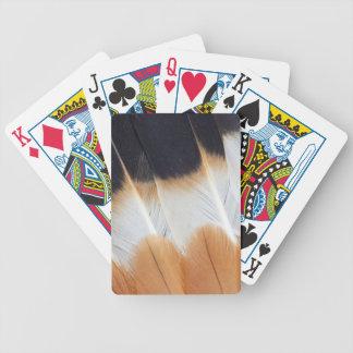 Baralho Para Pôquer Abstrato do norte da pena do galispo