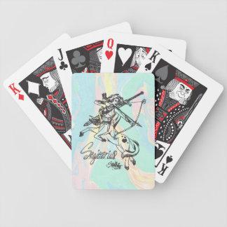 Baralho Para Pôquer Astrologia dos cartões da caída 52 da plataforma