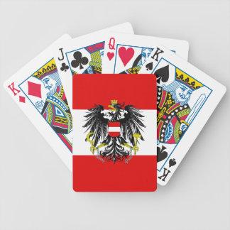 Baralho Para Pôquer Bandeira austríaca