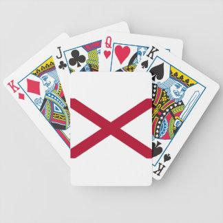 Baralho Para Pôquer Bandeira de Alabama