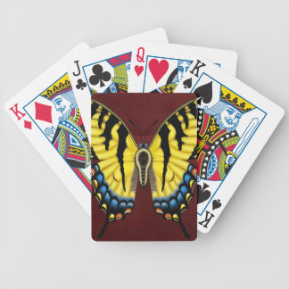 Baralho Para Pôquer Borboleta de Swallowtail do tigre