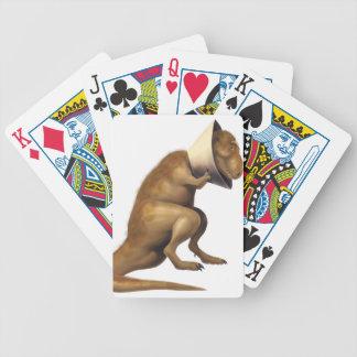 Baralho Para Pôquer Canecas e cartões de jogo com trabalhos de arte do
