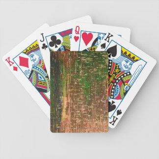 Baralho Para Pôquer Cartões de jogo derretidos do desenhista dos