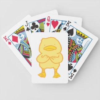 Baralho Para Pôquer Cartões de jogo Ducky da bicicleta