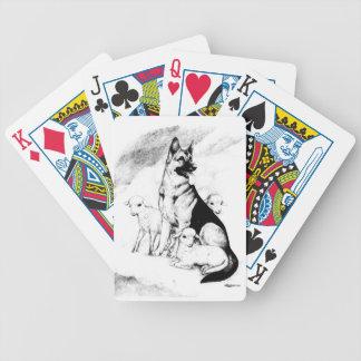 Baralho Para Pôquer Céu do cão, o rebanho do mestre