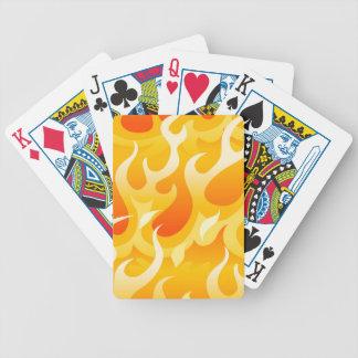 Baralho Para Pôquer Chamas quentes