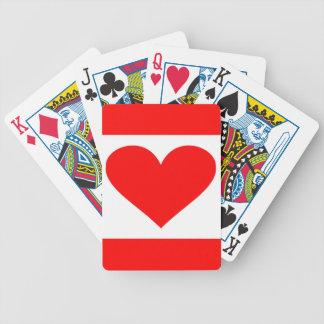 Baralho Para Pôquer Coração de Alabama de Dixie