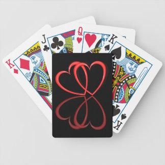 Baralho Para Pôquer Corações do amor