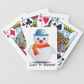 Baralho Para Pôquer Deixais lhe para nevar