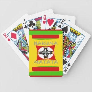 Baralho Para Pôquer Design surpreendente bonito de Hakuna Matata